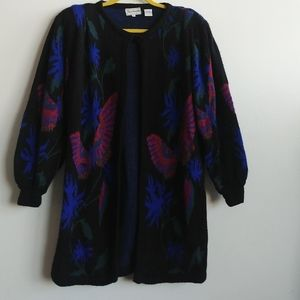 Jacobson's vintage chunky cosby cardigan size s